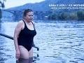 Zuzana Kronerová si pri natáčaní nového českého filmu užila ľadovej vody až až.