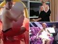 Porotkyňa ako z erotického filmu, odvážny moderátor, súťažiaca rozkročila nohy a... Pikošky z českej Tváre!