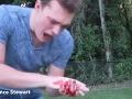 Mladík sa chcel zahrať na ninju, čistá katastrofa: Krvavé VIDEO, len pre silné povahy
