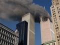 Dvojičky Svetového obchodného centra v New Yorku, fotografia z 11.septembra 2001