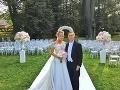 Veronika Cifrová Ostrihoňová a Matej Sajfa Cifra si pred tromi rokmi povedali áno.
