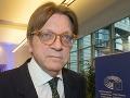 EP bude mať právo odmietnuť dohodu o brexite - kvôli právam občanov, oznámil Verhofstadt
