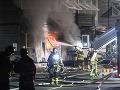 Utečenecké centrum v Štokholme zachvátil požiar: Podozrenie na podpaľačstvo