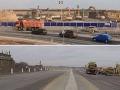 Z diaľnice D1 zmizol most: Dvojminútové VIDEO ukazuje, ako rýchlo ho Slováci rozobrali