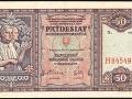 50-koruna z roku 1940