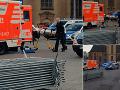 Krvavá bitka v Nemecku: VIDEO Štyria mladíci sa do seba pustili nožmi!