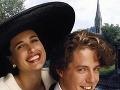 Hugh Grant a Andie MacDowell vo filme 4 svadby a 1 pohreb.