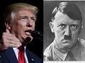 Trump ako Hitler: Desivé porovnanie nacistického diktátora a amerického prezidenta!