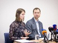 Hlávková s o Šípošom - riaditeľom TIS