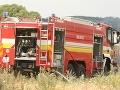 Požiar lesa nad rómskou osadou pri Spišskej Novej Vsi sa podarilo zlikvidovať