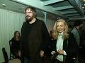 Spisovateľ Boris Filan s manželkou si tiež prišili vypočuť piesne z nového Palonderovho albumu.