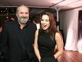 Marcel Palonder sa dobre zabával s herečkou Kristínou Greppelovou.
