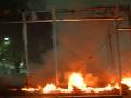 Požiar v utečeneckom tábore na ostrove Lesbos: Neprežila jedna osoba
