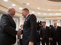 Alexander Lukašenko a Robert Fico