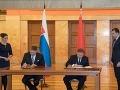 Robert Fico a predseda vlády Bieloruska  Andrej Kobjakov