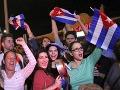 Obyvateľov Miami správa o Castrovej smrti potešila