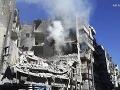 Izraelské letectvo podniklo v noci útoky: Cieľom sklad sýrskej armády a konvoj Hizballáhu