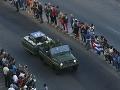 VIDEO Castrov popol sa vydáva na cestu: Slávnostná púť navštívi 13 provincií