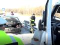 Tragédia na D1 pri Poprade: Vodič (†68) narazil do hasičov a policajtov, zomrel