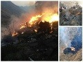 ONLINE Prvé hororové zábery po páde: V Pakistane sa zrútilo lietadlo, na palube zahynulo 48 ľudí