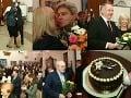 FOTOREPORTÁŽ Párty roka, Radičová oslávila 60-tku: Pusinky, tanec, rana od Kisku a Miki?