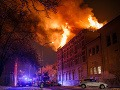 Požiar na Václavskom námestí v Prahe: Hotel zachvátili plamene, hostí museli evakuovať