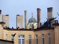 Skaze nie je koniec: Opäť horela strecha Prírodovedeckej fakulty v Košiciach!