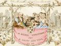 Najstaršia vianočná pohľadnica na