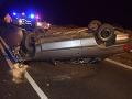 Tragická nehoda pri Krupine: Mladý vodič (†18) išiel prirýchlo, zákruta mu bola osudnou