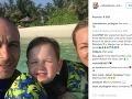 Erdogan Atalay a Katja Ohneck majú spolu 4-ročného synčeka Marisa.