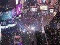 VIDEO Oslava Silvestra vo veľkom štýle: New York ponúkol megalomanskú šou, ale aj trapas