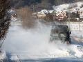 FOTO Snehové jazyky a záveje potrápia takmer celé Slovensko: Aktuálne podmienky na cestách