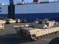 Tanková brigáda Spojených štátov: Prvé zariadenia a dopravné prostriedky sú už v Nemecku