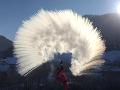 VIDEO Fascinujúce zábery z Terchovej: Arktická zima vykúzlila prekrásne divadlo