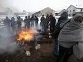 V utečeneckom tábore na gréckom Lesbose to vrie: Výtržnosti, utečenci sa bránia deportácii!
