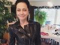 Lucie Bílá na sociálnu sieť Instagram zavesila fotku bez mejkapu.