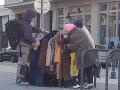 Vešiak pomoci v Bratislave