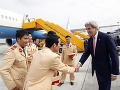 John Kerry na svojej poslednej pracovnej ceste: Ako prvý navštívil Vietnam