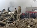 VIDEO Turecké lietadlo sa zrútilo do obytnej štvrte, desiatky mŕtvych