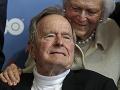 Stav exprezidenta Georgea Busha staršieho sa zlepšuje