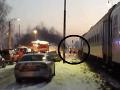 Tragická zrážka vlaku s autom