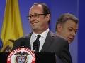 Hollande sa vydal do srdca povstania: Mierový proces v Kolumbii podporujeme