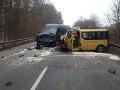 FOTO Vážna nehoda pri Holíči: Vodiči ostali šokovaní, na cestu vybehlo asi 20 diviakov