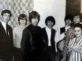 Chris (vľavo) s členmi kapely Rolling Stones