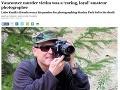 Brutálna vražda Slováka vo Vancouveri: Lubo (†61) šiel fotografovať do parku, našla ho smrť