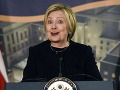 Hillary Clintonová vo svojom prvom verejnom vystúpení: Budúcnosť patrí ženám!