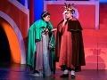 Eva Nováková ako Ciboletta a Filip Tůma ako Pappacoda v novom naštudovaní operety Johanna Straussa ml. Noc v Benátkach v Štátnom divadle Košice