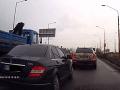 VIDEO Arogantný vodič z Košíc: Bezohľadná jazda sa mu nevyplatila, polícia koná