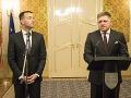Robert Fico a Tomáš Drucker