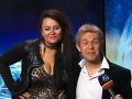 V odvážnom kostýme vyvetrala herečka Petra Polnišová svoje objemné megaprsia.